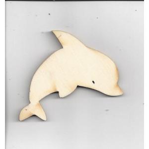 Delfín velký, 6,7 x 5,3 cm