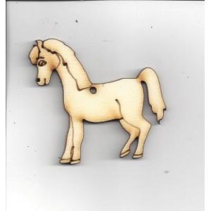 Koník velký, 5 x 5 cm