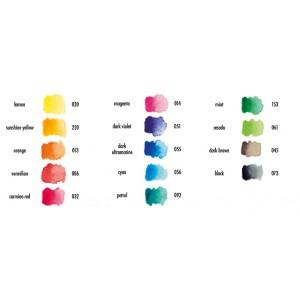 Barevný inkoust Aqua Ink - Vermilion