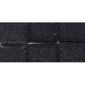 Mozaika akrylová metalická 1x1 cm - obsidian