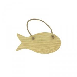 Dřevěný výřez závěsná ryba