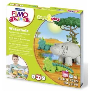 "Fimo soft sada pro děti ""Waterhole"""