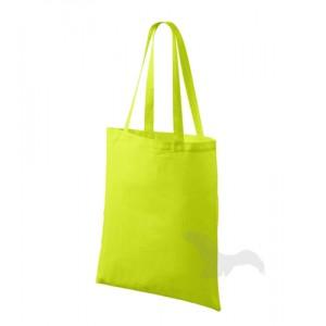 Bavlněná taška 42 x 38 cm, limetková