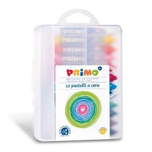 Voskové pastelky PRIMO 12 ks
