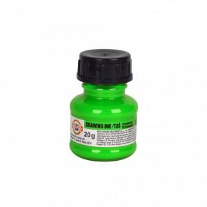 Tchnická tuš 20g, fluorescenční zelená