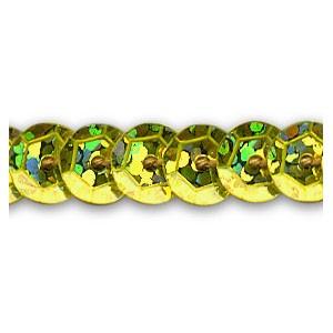Flitry stuha 6 m - zlatá
