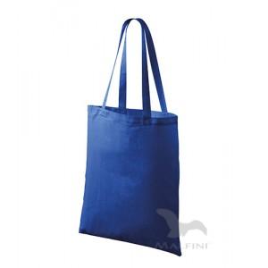 Bavlněná taška 42 x 38 cm, královská modrá
