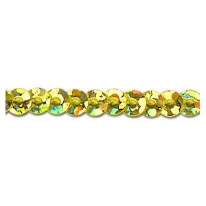 Flitry stuha 3mm - zlatá