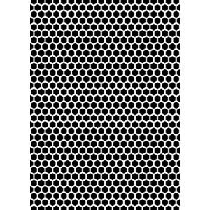 Plastová šablona Vzor 6