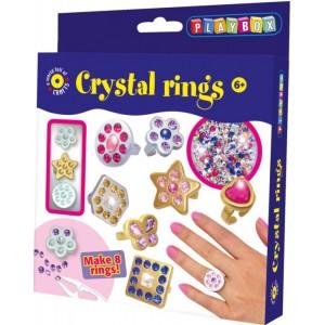 Sada na výrobu prstýnků s kamínky