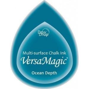 Inkoustový polštářek s křídovou barvou VersaMagic - Ocean Depth