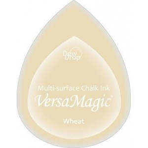 Inkoustový polštářek s křídovou barvou VersaMagic - Wheat