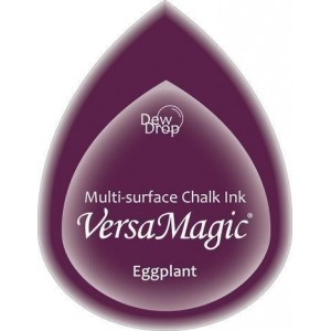 Inkoustový polštářek s křídovou barvou VersaMagic - Eggplant