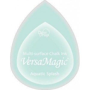 Inkoustový polštářek s křídovou barvou VersaMagic - Aquatic Splash