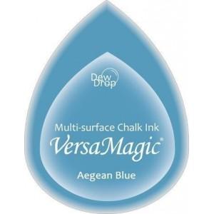 Inkoustový polštářek s křídovou barvou VersaMagic - Aegean Blue