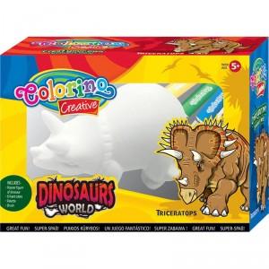 Dinosauří svět k vymalování - Triceratops