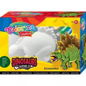 Dinosauří svět k vymalování - Stegosaurus