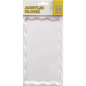 Akrylový blok 16 x 9 cm