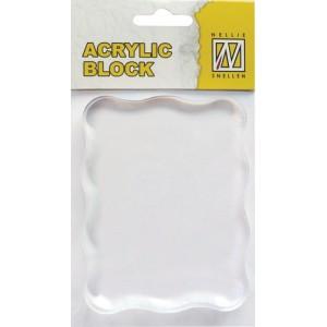 Akrylový blok 4,5  x 8 cm