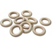 Dřevěné kruhy Ř 16mm