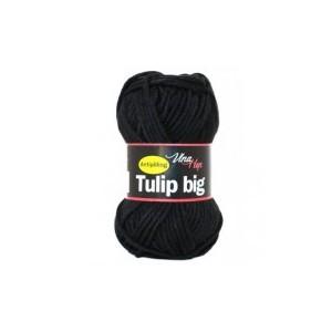 Vlna Tulip big - černá