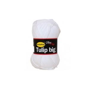 Vlna Tulip big - bílá