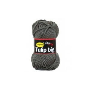 Vlna Tulip big - tmavě šedá