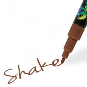 Graph'it Shake popisovač tenký 2,5mm - Cocoa