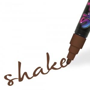 Graph'it Shake popisovač středně velký 4mm - Brown
