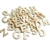 Dřevěné výřezky písmenka