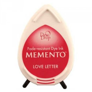 Inkoustový polštářek Memento Dew Drop - Love Letter