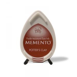 Inkoustový polštářek Memento Dew Drop - Potter's Clay