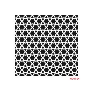 Plastová šablona 25 x 25 cm