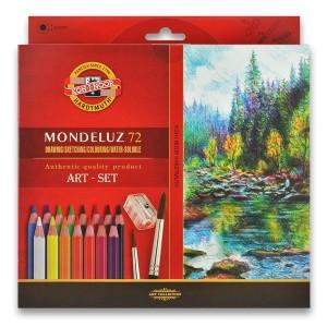 Akvarelové pastelky 48 ks