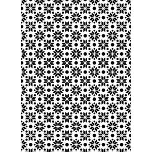 Plastová šablona Stars 2