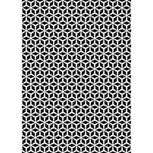 Plastová šablona Vzor 3