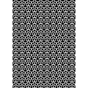 Plastová šablona Flower Pattern