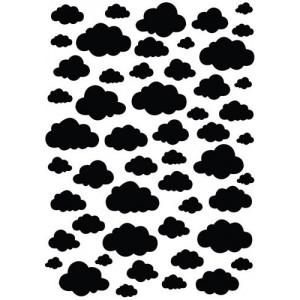 Plastová šablona Clouds