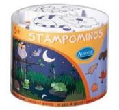 Dětská razítka TAMPOMINOS - sada V noci