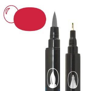 Graph'O brush oboustranný fix na vodní bázi - Lipstick
