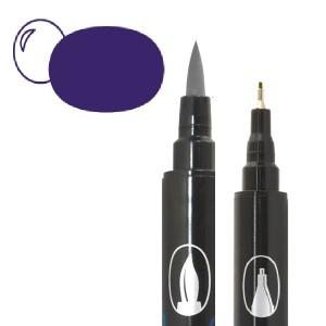 Graph'O brush oboustranný fix na vodní bázi - Iris