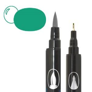 Graph'O brush oboustranný fix na vodní bázi - Emerald