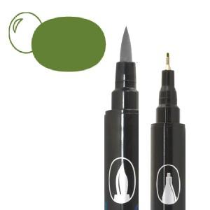 Graph'O brush oboustranný fix na vodní bázi - Military
