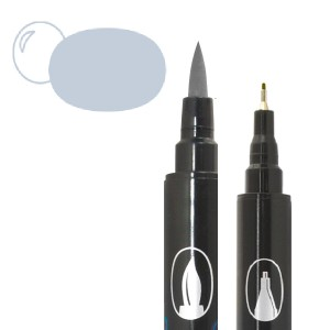 Graph'O brush oboustranný fix na vodní bázi - Cool Grey Light