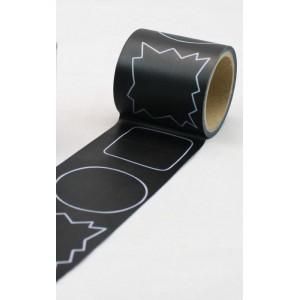 Tabulové washi pásky 30 mm x 5 m