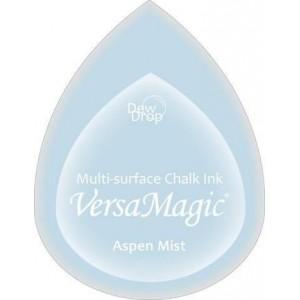 Inkoustový polštářek s křídovou barvou VersaMagic - světle modrá