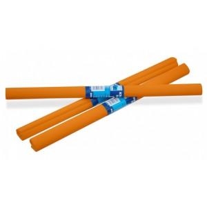 Papír krepový -  sv.oranžový