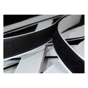 Suchý zip háček, černý, 20mm