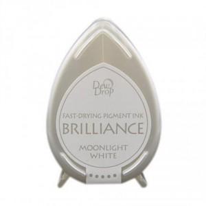 Razítkovací polštářek Brilliance - Moonlight white