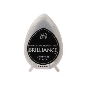 Inkoustový polštářek Brilliance Graphite Black